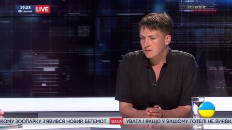 MP Savchenko is to stay overnight by the Office of the Administration of the President
