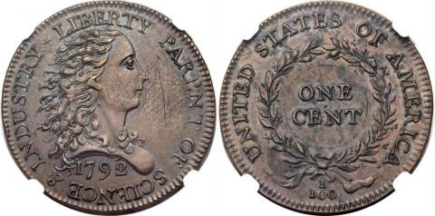 Two rare American one-cent coins to be auctioned for $ 1m