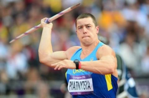 Ukrainian javelin thrower Pyatnytsya loses 2012 Olympics silver due to failed doping retest,