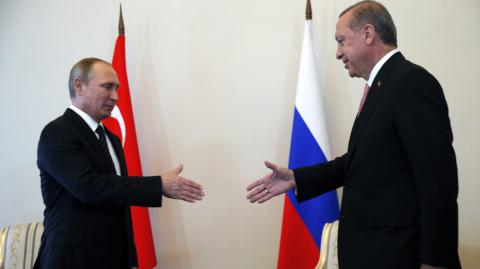 Turkey and Russia are friends again