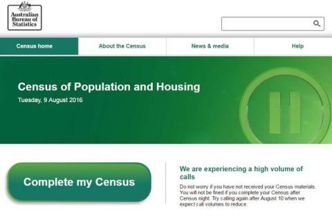 Australia tries to resume failed online census two days after it shut down