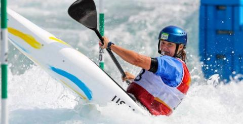 Ukraine's Us took 12th place in Rio whitewater competitions