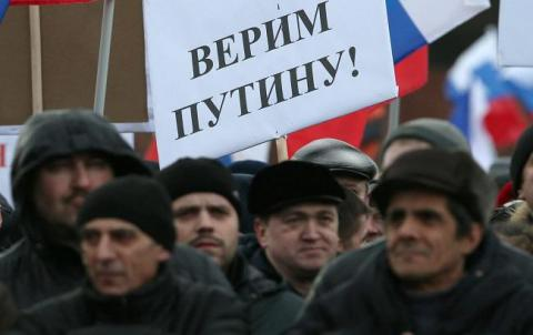 "About 30% of Russians believe that the higher officials of the Russian Federation ""mostly lying"" - the poll"