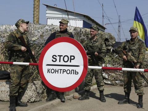 Activity of Russian troops near Crimea-Ukraine administrative boundary decreased