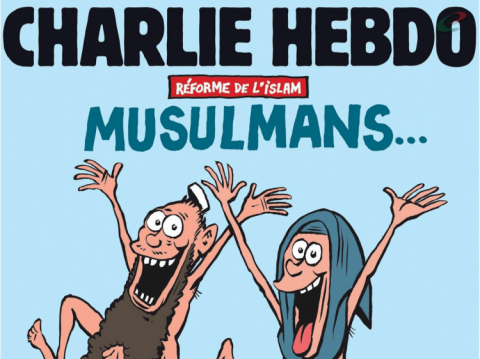 Charlie Hebdo receives threats after publishing naked Muslims image