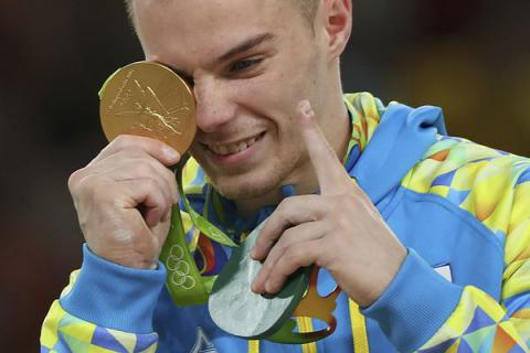 Athlete Vernyayev brings Ukraine first gold medal at Rio Olympics