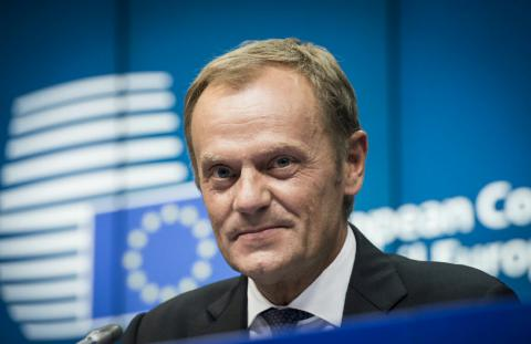 Tusk: Ukraine's issue is a priority, EU not to lift sanctions against Russia