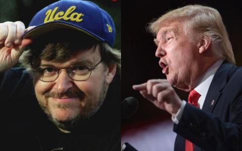 Donald Trump doesn't want to be the President, at least Michael Moore thinks so