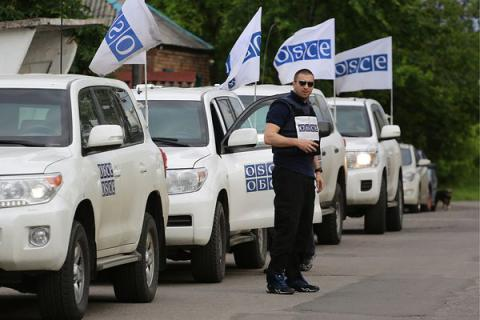 Ukraine seeks OSCE SMM expansion to Crimea, police mission deployment to Donbas