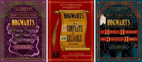 Three new books from Harry Potter world would be released September