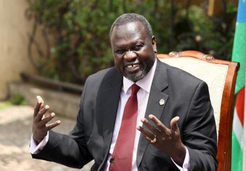 South Sudan oppositionist Riek Machar left the country