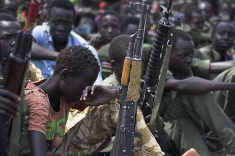 16,000 child soldiers recruited into South Sudan's armed groups since end of 2013 - UNICEF