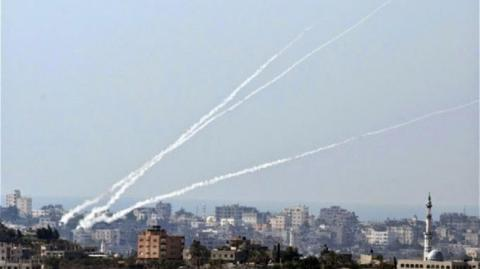 Israel responded over Gaza rocket fire with 50 strikes