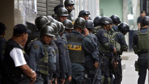 Peru investigates police for illegal killings