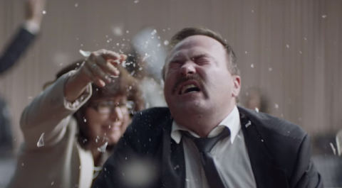 Politicians' scramble in the latest music video of Dj Shadow, Rolling Stone