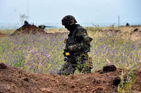 Militants launched 76 attacks on Ukrainian forces in Donbas over last 24 hours