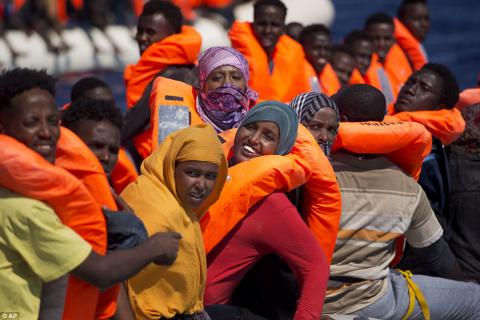 Italy rescued 1,100 migrants in sea