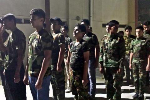 Iraqi militias recruiting children - Human Rights Watch