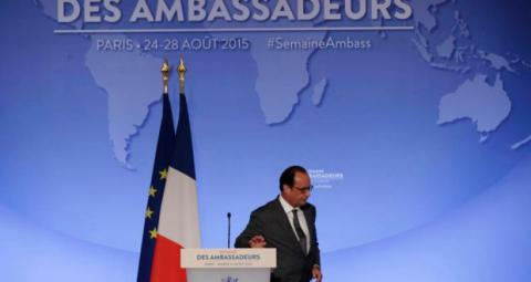 Paris climate agreement far from being implemented: Hollande
