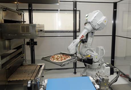 Silicon Valley's startup teaches robot to make pizza