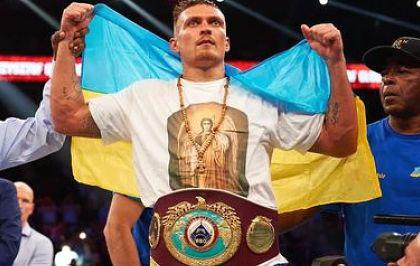 Ukrainian boxer Usyk is WBO world champion