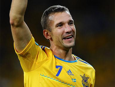 Legendary Ukrainian football player Shevchenko is turning 40 today