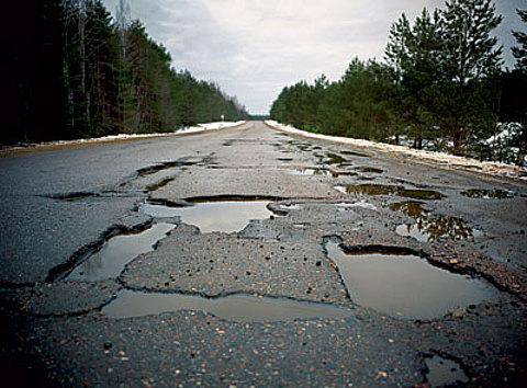 Ukraine's roads are among top five worst in the world