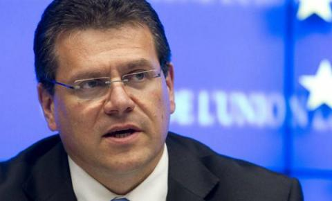 Ukrainian gas transite reliability this winter is priority for UE - Sefcovic