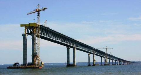 US blacklists companies building 'Putin bridge' to annexed Crimea