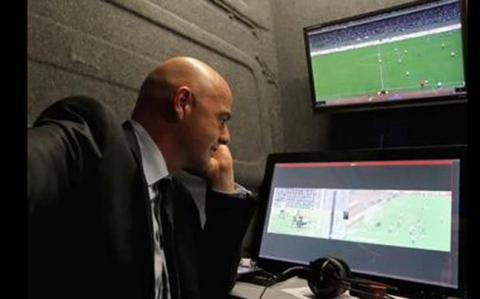 """""""Football history"""" was made with video replays: Infantino"""
