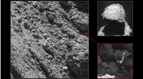 Rosetta mission's lost Philae lander found on comet