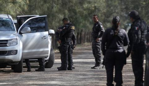 Mexican police helicopter downed by gang