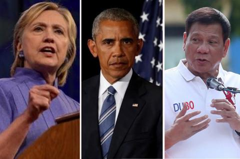 U.S.'s Clinton asks Philippines to show respect after Obama insulting