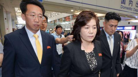 North Korean nuclear envoy visits China