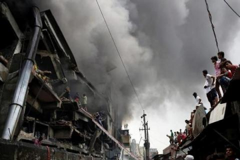Bangladesh factory fire death toll up to 31 (VIDEO)