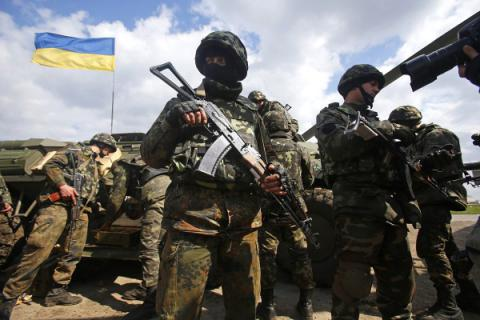 One Ukrainian serviceman killed, another wounded in Donbas war zone over past day
