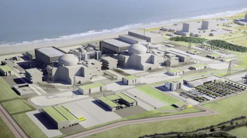 Britain approves Hinkley Point C construction