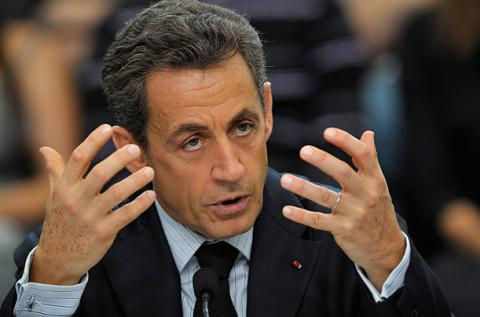 France's Sarkozy claimed population is bigger threat than climate change