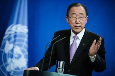 UN head stressed need for Minsk agreements full implementation on behalf of Ukraine
