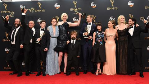 Game of Thrones reaped awards at the Emmy