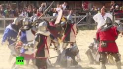 International medieval fighting festival in modern Kyiv (VIDEO)