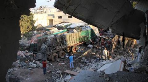 U.S. blames Russia in Aleppo attack