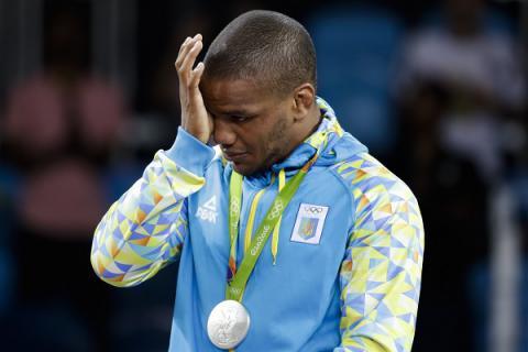 Ukrainian Rio medalist is 'not good enough' to get German visa