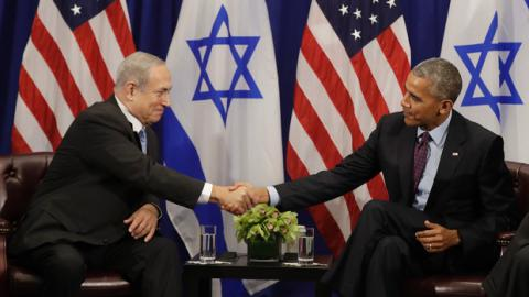 Obama expressed concern to Netanyahu over Israeli-Palestinian peace