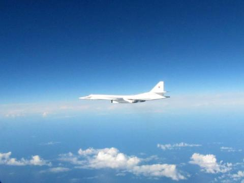 Two Russian bombers detected in the UK area of interest