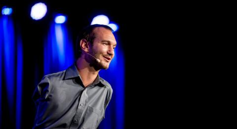 Nick Vujicic to lecture Ukrainian MPs
