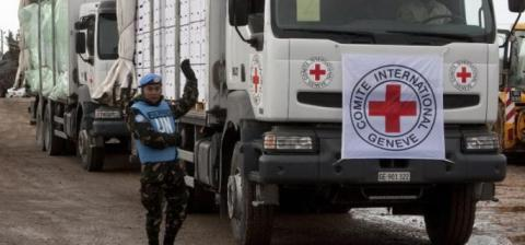 Aid reached four Syrian towns