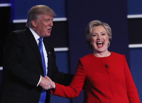 First Clinton and Trump debate broke Twitter record