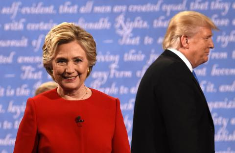 Clinton vs Trump: most watched debate ever