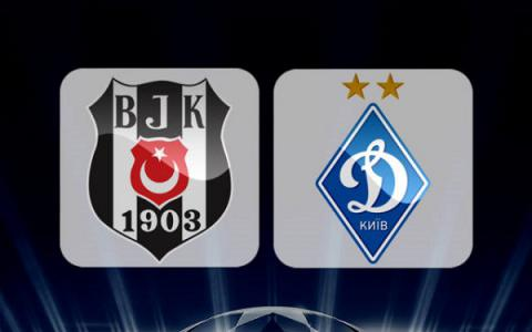 Besiktas fights Dynamo Kyiv tonight in UEFA Champions League match